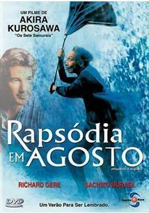 RAPSODIA EM AGOSTO - DVD