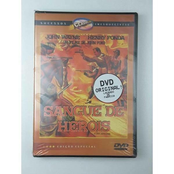 SANGUE DE HEROIS - DVD