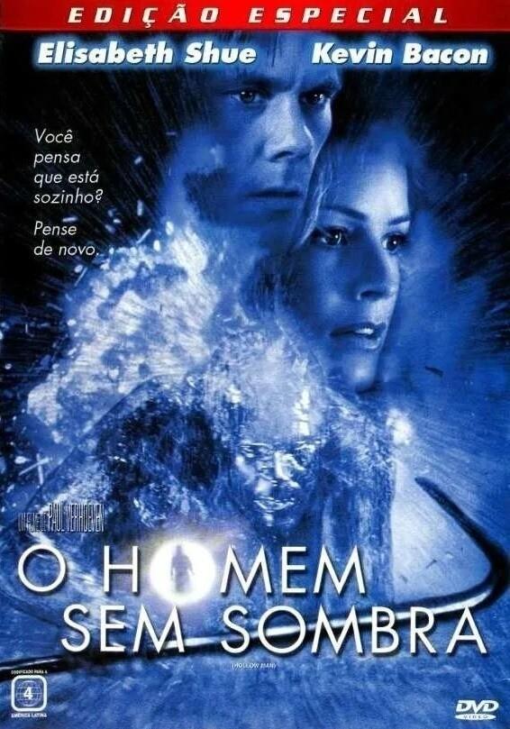 O HOMEM SEM SOMBRAS - DVD