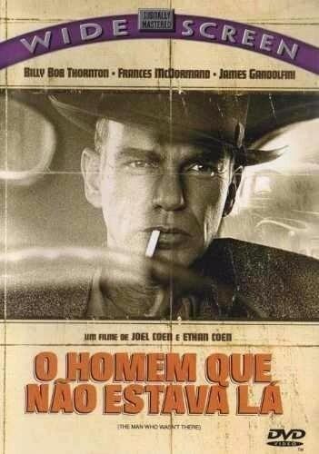 O HOMEM QUE NAO ESTAVA LA - DVD