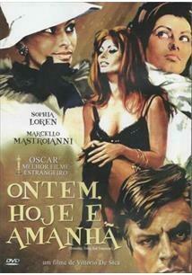 ONTEM, HOJE E AMANHA - DVD