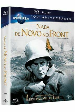 NADA DE NOVO NO FRONT (NOVO - LACRADO - ED. ESPECIAL) - BLURAY