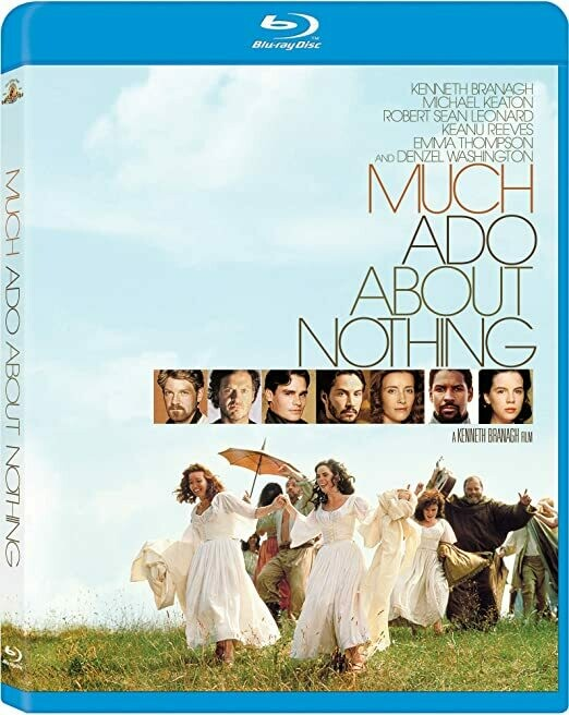 MUCH ADO ABOUT NOTHING - BLURAY (NOVO IMPORTADO)