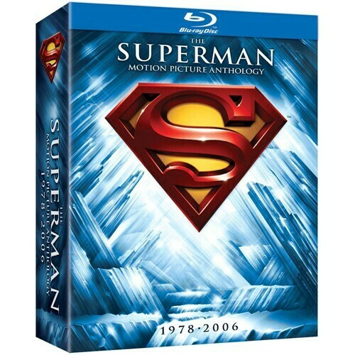 SUPERMAN BOX - 1978/2006 - BLURAY (IMPORTADO NOVO)
