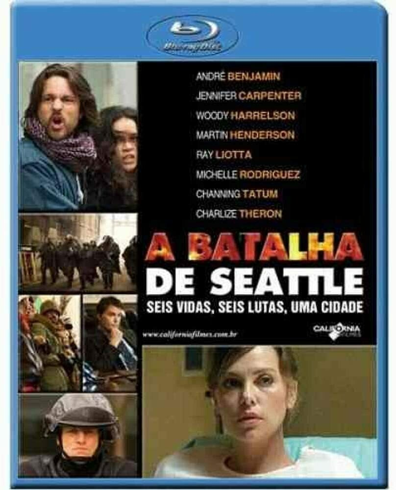 A BATALHA DE SEATTLE - BLURAY