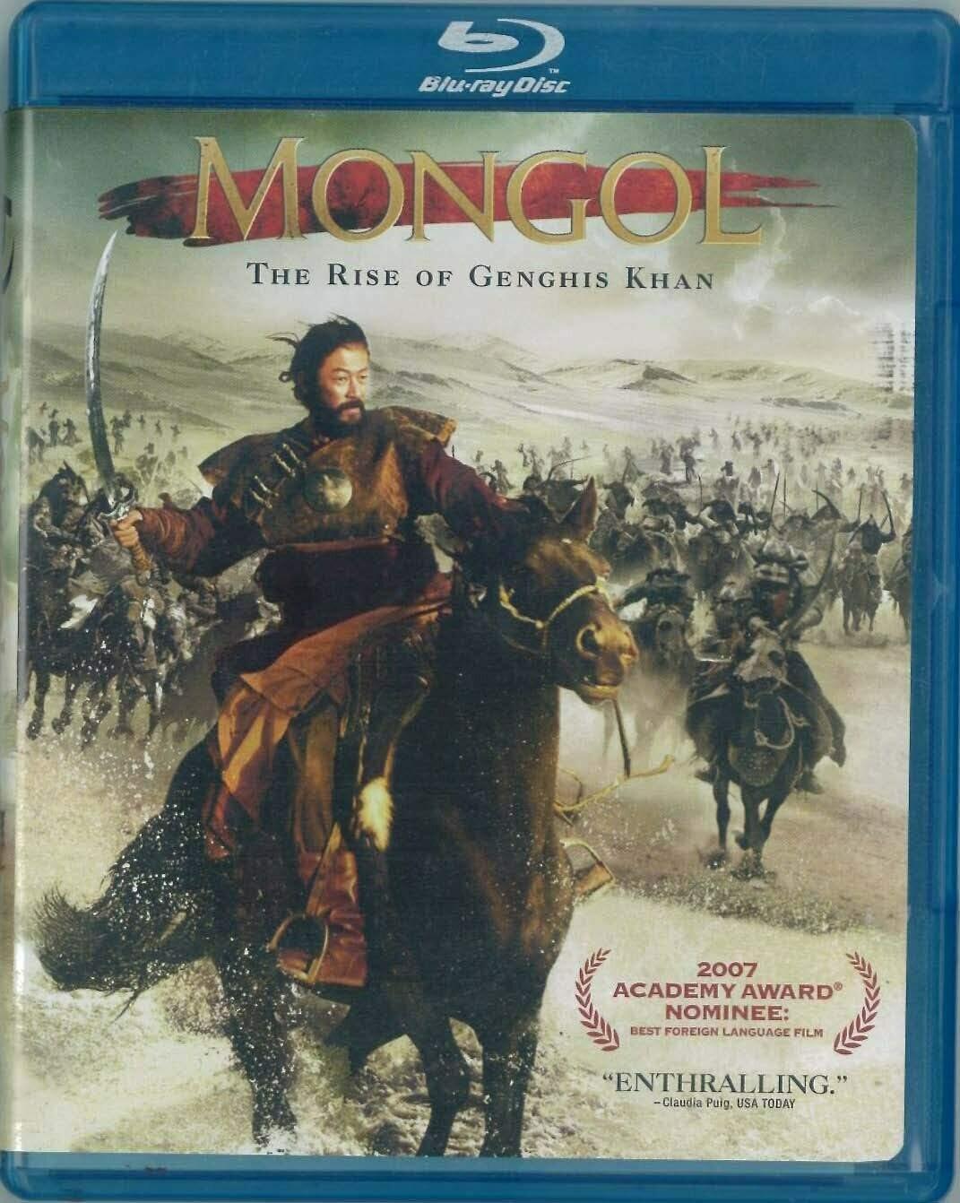 MONGOL - BLURAY - (NOVO IMPORTADO)