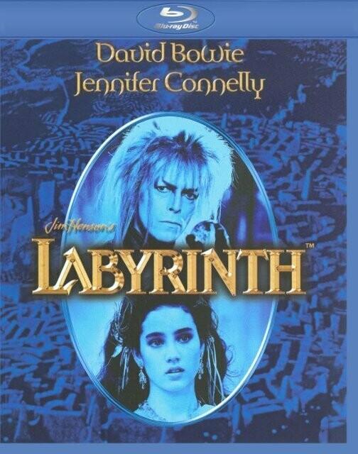 LABYRINTH - BLURAY - NOVO IMPORTADO