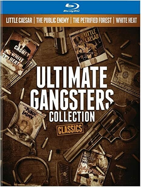 ULTIMATE GANGSTERS - (BLURAY BOX IMPORTADO - NOVO)
