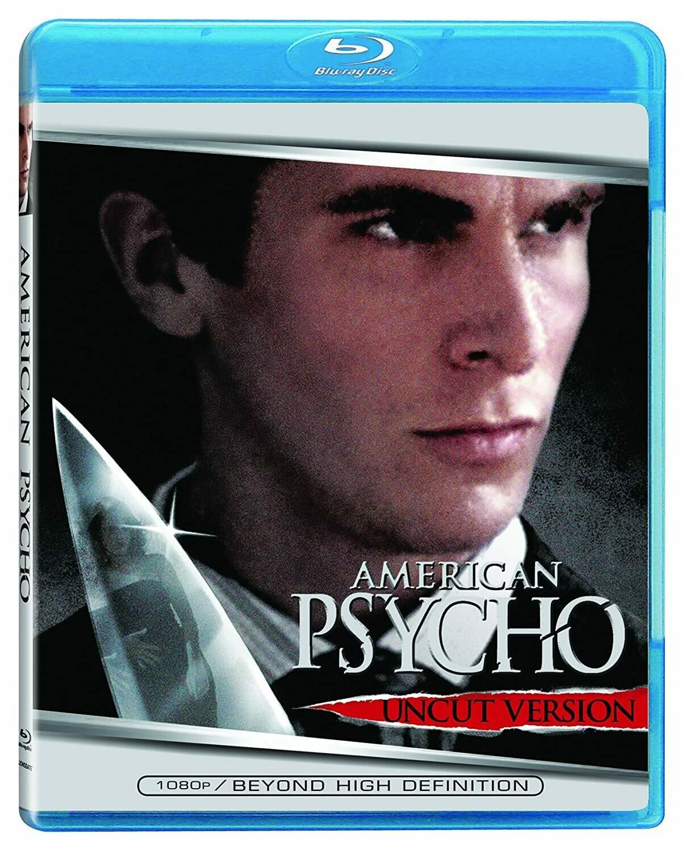 AMERICAN PSYCHO - BLURAY - NOVO IMPORTADO