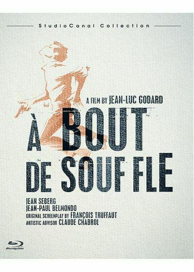 A BOUT DE SOUFFLE - BLURAY - SEMINOVO IMPORTADO FRANCÊS
