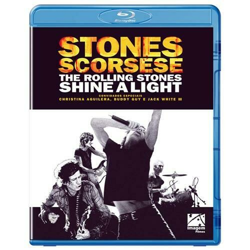 THE ROLLING STONE SHINE A LIGHT - BLURAY
