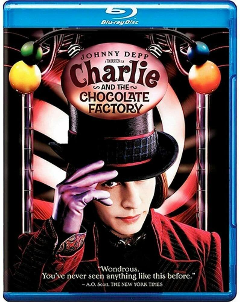 CHARLIE A FANTASTICA FABRICA DE CHOCOLATE - BLURAY