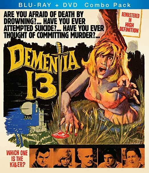 DEMENTIA 13 - BLURAY