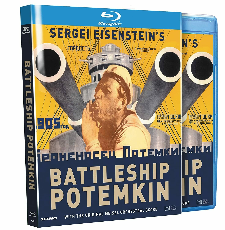 BATTLESHIP POTEMKIN - BLURAY (IMPORTADO NOVO)