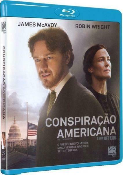 CONSPIRACAO AMERICANA - BLURAY