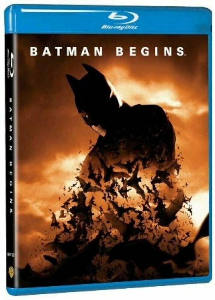 BATMAN BEGINS - BLURAY