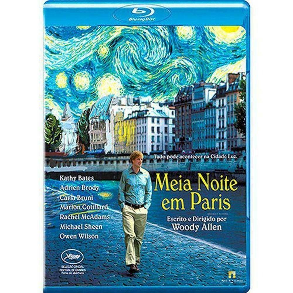 MEIA NOITE EM PARIS - BLURAY