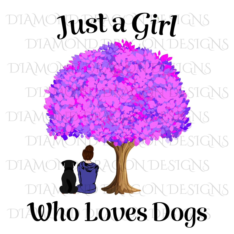 Dogs - Girl Who Loves Dogs, Girls Best Friend, Waterslide
