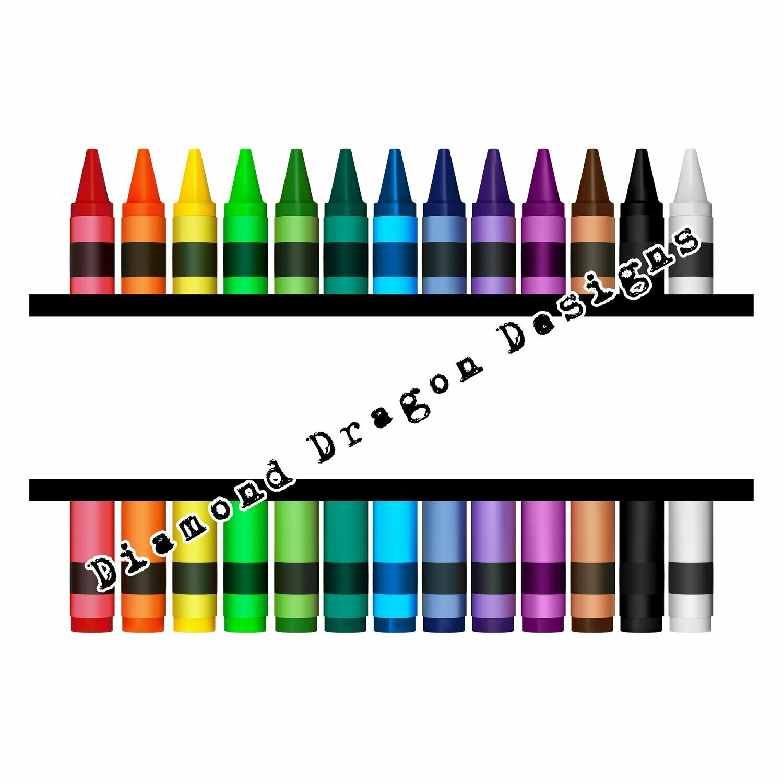 Teachers - Crayon, Teacher, Split, Name, Teacher Name, Digital Image