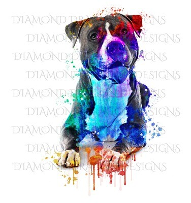 Custom Image - Watercolor YOUR Pet 2, Digital Image