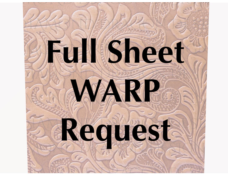 Custom Image - WARP an Image for Full Tumbler Wraps