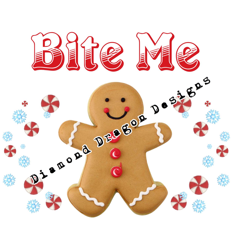 Christmas - Gingerbread Man, Bite Me, Waterslide
