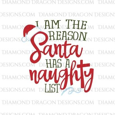 Christmas - Santa's Naughty List, Waterslide