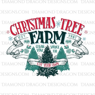 Christmas - Christmas Tree Farm, Waterslide
