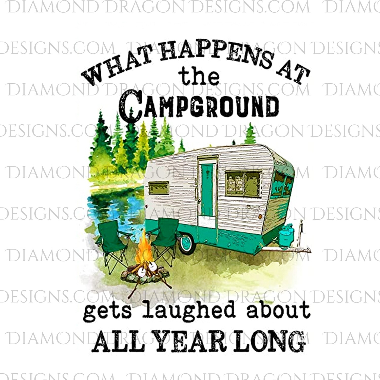 Camping - What Happens at the Campground, Waterslide