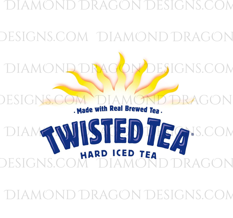 Alcohol - Twisted Tea Logo, Waterslide