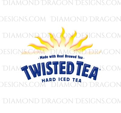 Alcohol - Twisted Tea Logo, Waterslide