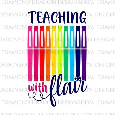 Teachers - Flair Pens, Teaching with Flair, Waterslide