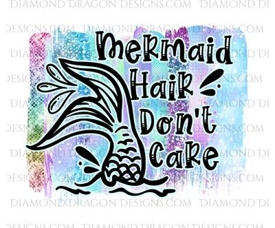 Mermaid -  Mermaid Hair Don't Care, Waterslide