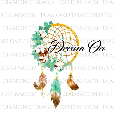 Mystical - Dream Catcher Feathers, Dream On, Waterslide