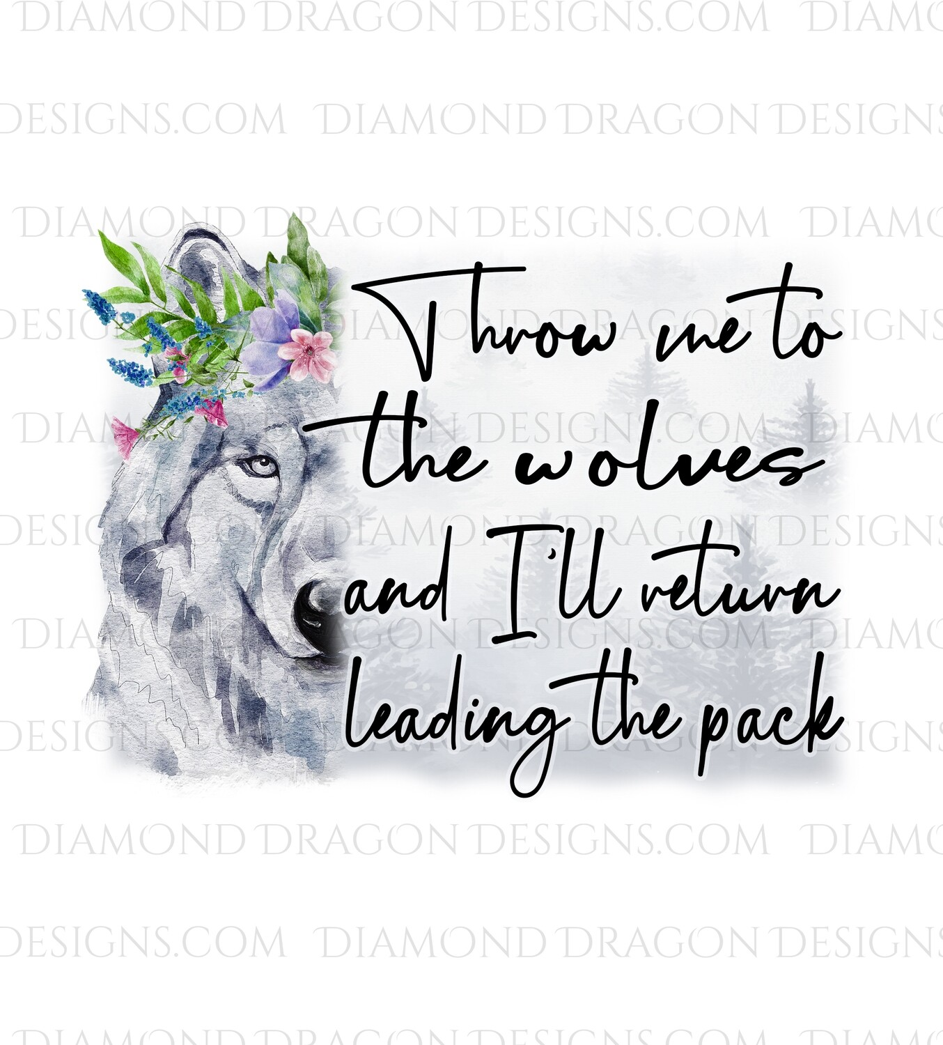 Quote - Throw me to the Wolves, I'll Lead the Pack, Waterslide