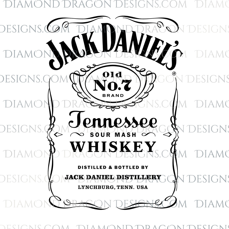 Alcohol - Jack D Logo, Waterslide