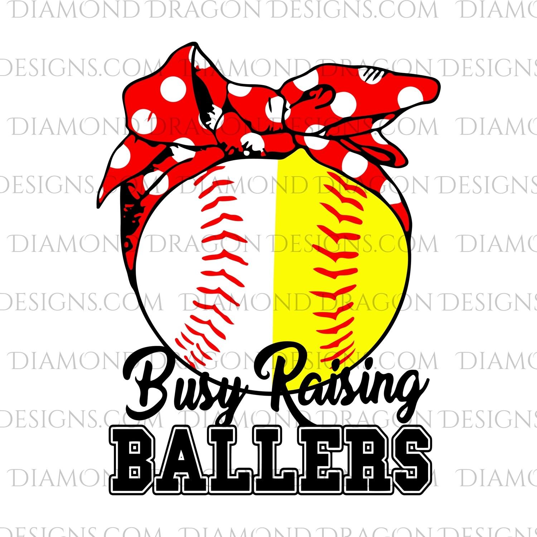 Sports - Busy Raising Ballers, Baseball, Softball, Waterslide