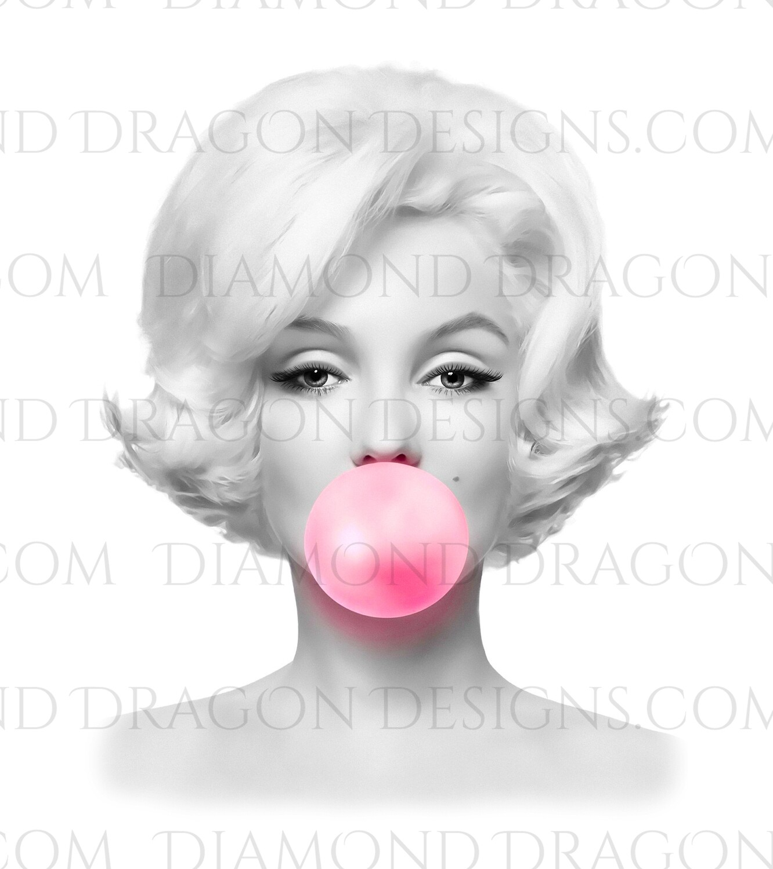 Characters - Marilyn Bubblegum, Waterslide