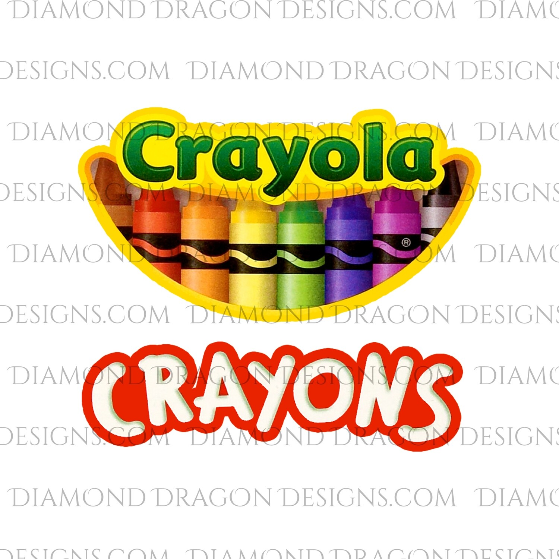 Teachers - Crayon Inspired, Waterslide