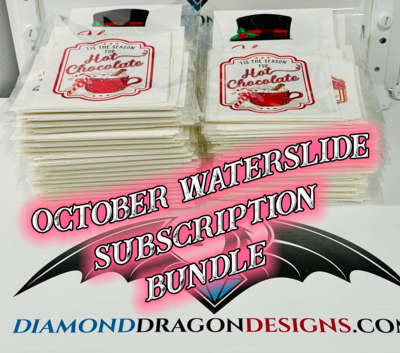 October Waterslide Bundle - Limited Quantity Available