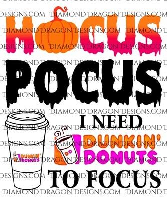 Halloween - Hocus Pocus, Dunkin To Focus, Waterslide