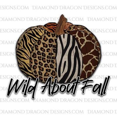Fall - WIld About Fall, Animal Print Pumpkin, Waterslide