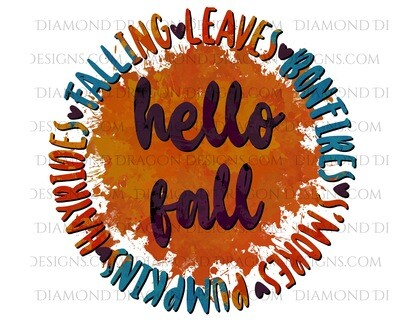 Fall - Hello Fall, Waterslide