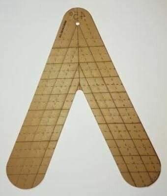 45° Ruler