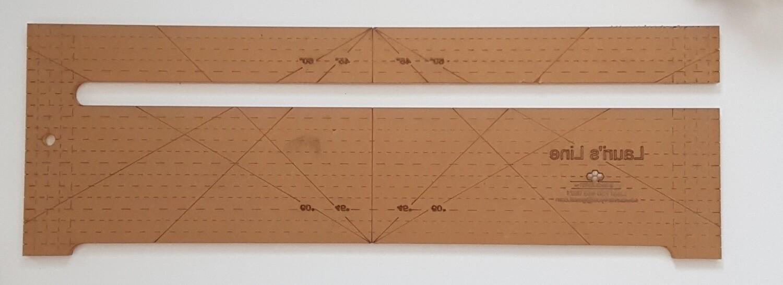 "Lauri's Line - 18"" (Short Side Edge opening)"