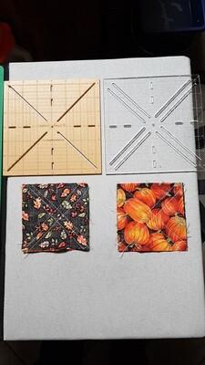 Half (Quarter) Square Block Templates - for up to 6