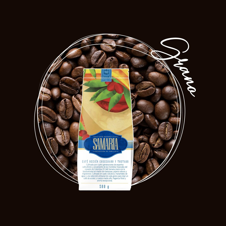 Libra café en grano con envío nacional incluido