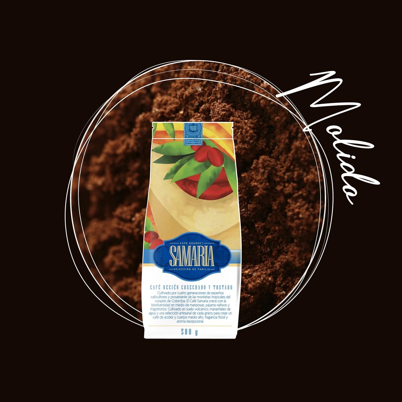 Libra café molido con envío nacional incluido