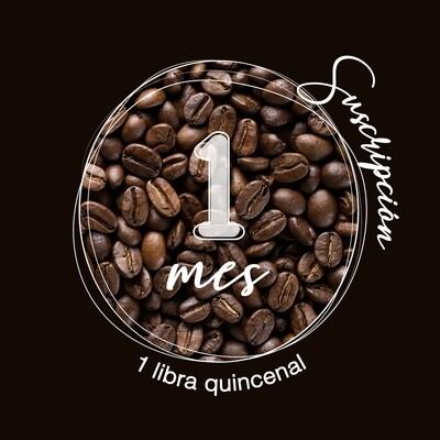 Suscripción 2 libras mes de café en grano con envío nacional incluido