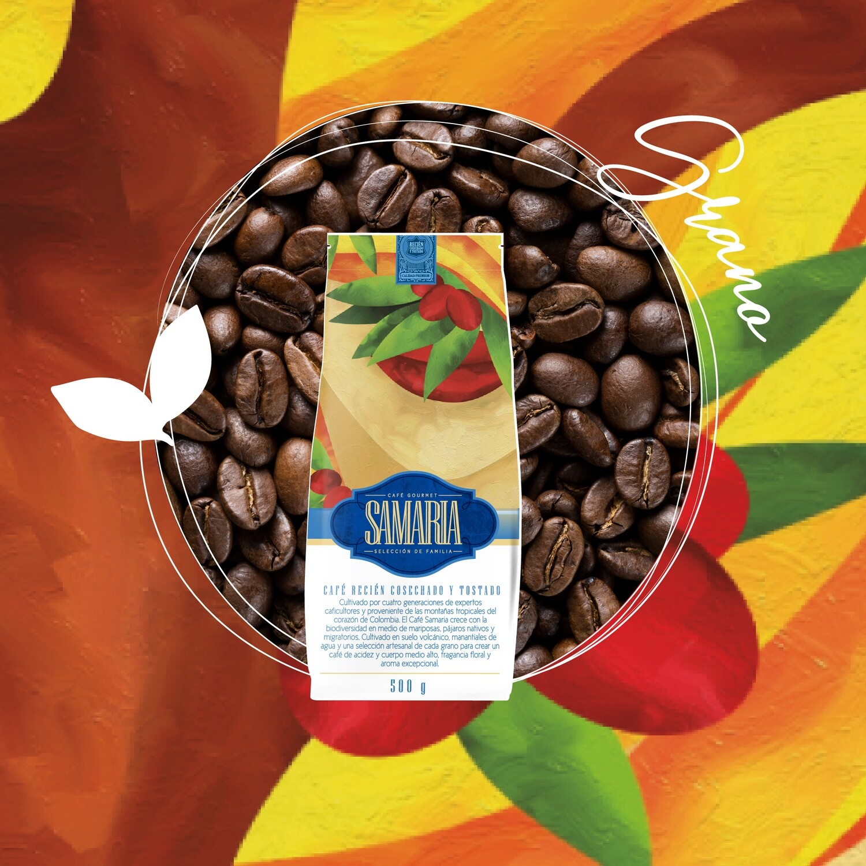 *Solo Manizales* Libra café gourmet en grano